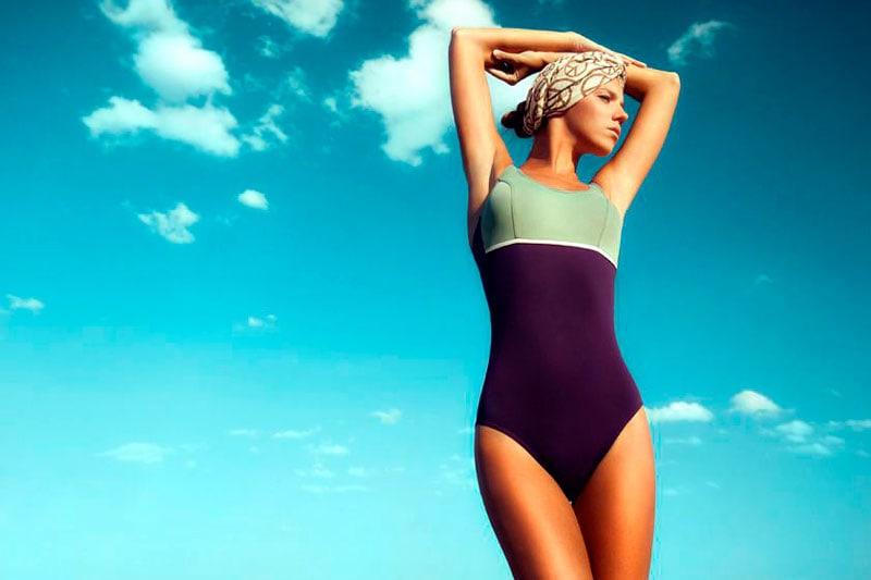 Bañadores adaptados para las prótesis mamarias