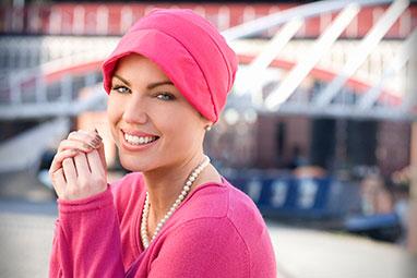 Turbantes oncológicos para quimioterapia