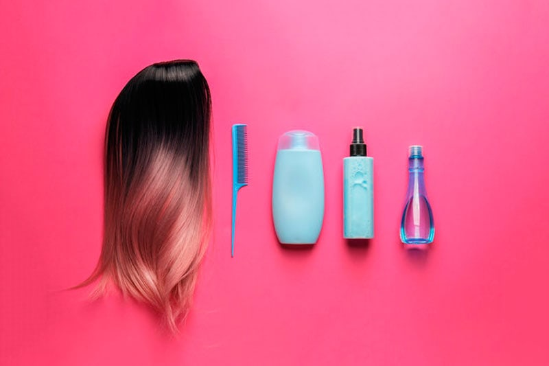 limpiar una peluca oncológica