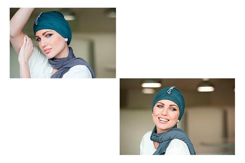 turbante de oncología